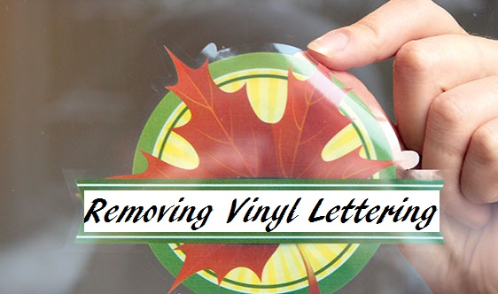how to remove vinyl decals lettering best deal signs