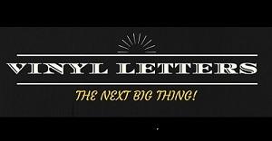 Vinyl letters - Copy